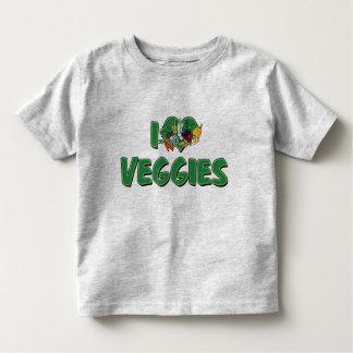 I Love Heart Veggies - Vegan Health Food Lover Toddler T-shirt