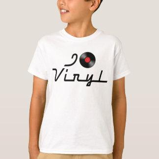 I Love Heart Vinyl - DJ Record Album Lover T-Shirt