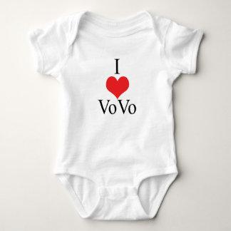 I Love (Heart) VoVo Baby Bodysuit