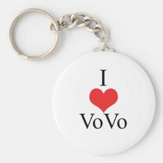 I Love (Heart) VoVo Key Chains