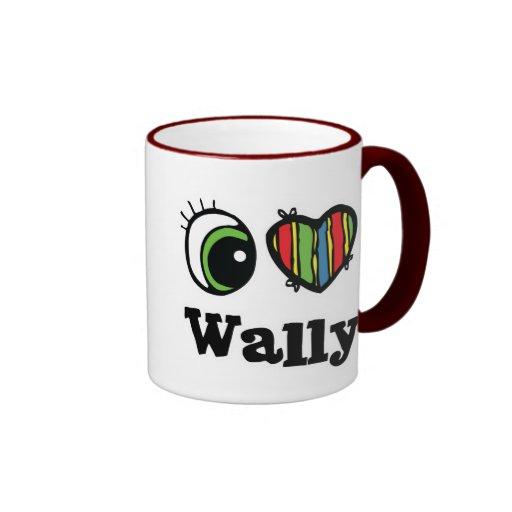 I Love (Heart) Wally Mug