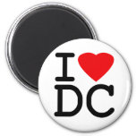 I Love Heart Washington D.C. District of Columbia Magnets