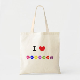 I love heart westies dog tote bag, gift idea