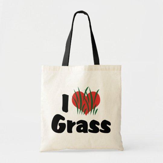 I Love Heart Wheatgrass - Juicing Healthy Living Tote Bag