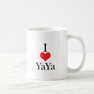 I Love (Heart) YaYa Coffee Mug