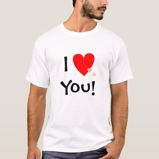 I Love (Heart) You Will You Marry Me Proposal T-Shirt