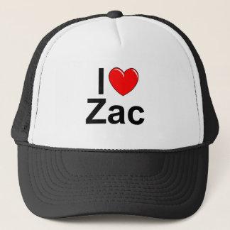 I Love (Heart) Zac Trucker Hat