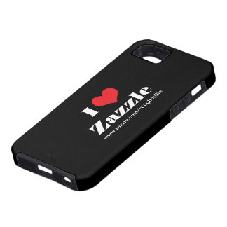I love heart Zazzle, custom to promote your store iPhone SE/5/5s Case