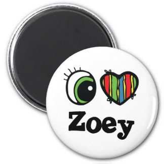 I Love (Heart) Zoey Magnet