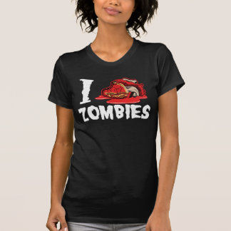 I Love Heart Zombies T-Shirt