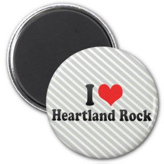 I Love Heartland Rock Refrigerator Magnet
