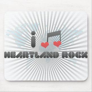 I Love Heartland Rock Mousepads