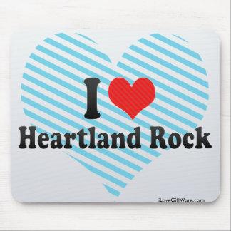 I Love Heartland Rock Mouse Pad