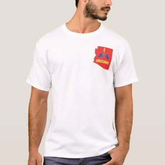 I Love (HeartMark) Arizona shirt