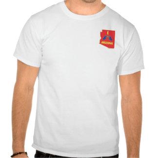 I Love (HeartMark) Arizona T Shirts