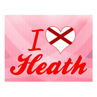 I Love Heath, Alabama Postcard