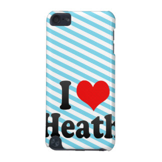 I love Heath iPod Touch 5G Cover