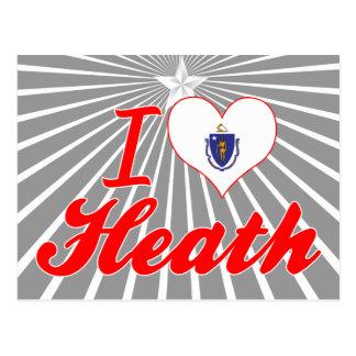 I Love Heath, Massachusetts Postcard