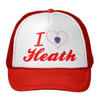 I Love Heath, Massachusetts Trucker Hat