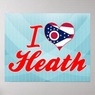 I Love Heath, Ohio Poster