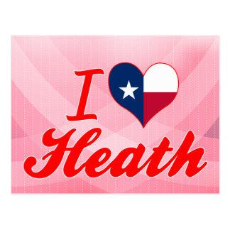 I Love Heath, Texas Postcard