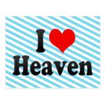 I love Heaven Post Cards