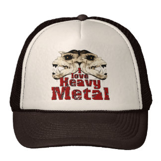 I love Heavy Metal Hat