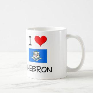 I Love Hebron Connecticut Classic White Coffee Mug