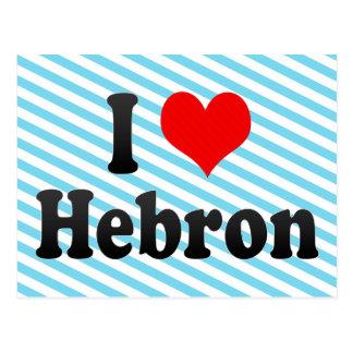 I Love Hebron, Palestinian Territory Postcard