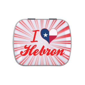 I Love Hebron, Texas Jelly Belly Tins