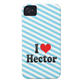 I love Hector iPhone 4 Case-Mate Cases