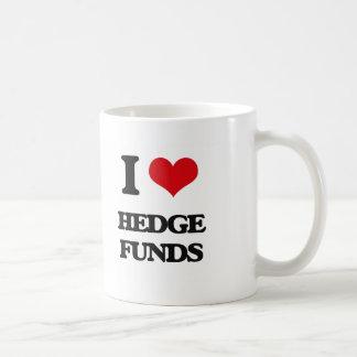 I love Hedge Funds Classic White Coffee Mug