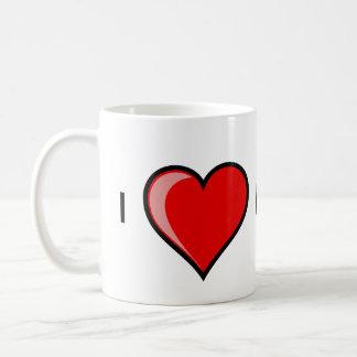 I love hedge funds coffee mug