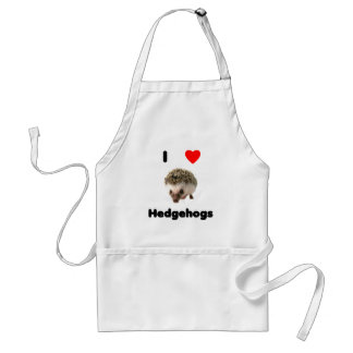 I love hedgehogs Apron