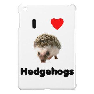 I love hedgehogs iPad mini cover