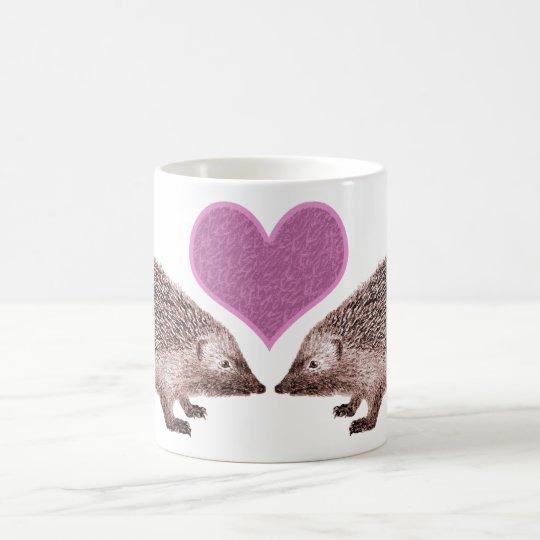 I Love Hedgies - Two Hedgehogs on a Mug