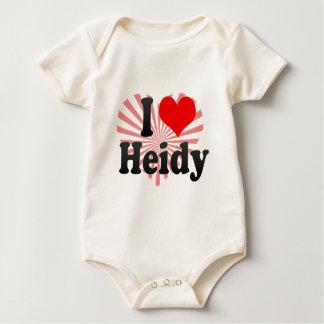I love Heidy Rompers