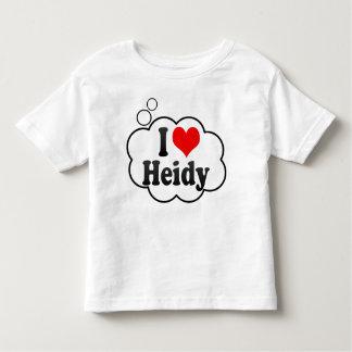 I love Heidy Tshirts