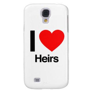 i love heirs galaxy s4 case