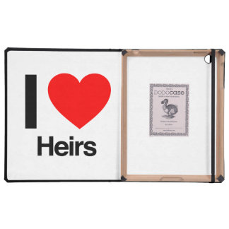 i love heirs cases for iPad