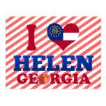 I Love Helen, Georgia Postcard