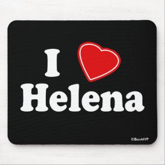 I Love Helena Mouse Pad