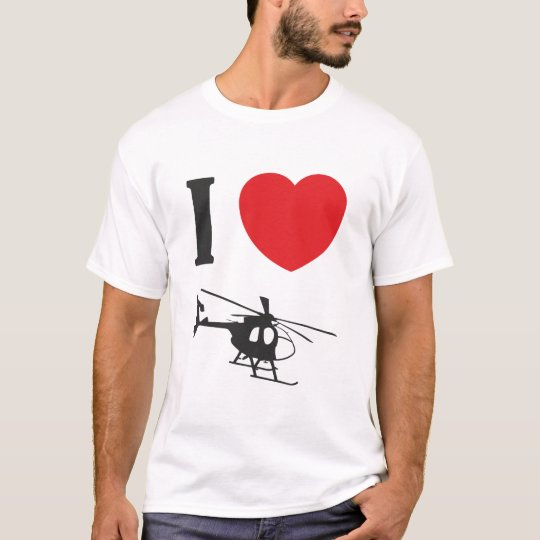 I Love Helicopters Tee