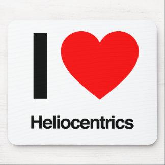 i love heliocentrics mouse pad