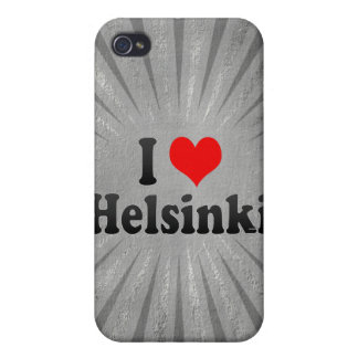 I Love Helsinki, Finland Cases For iPhone 4
