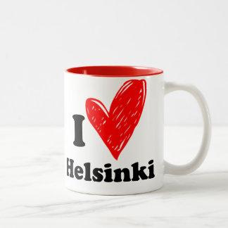 I love Helsinki Two-Tone Coffee Mug