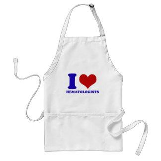 I love hematologists design adult apron