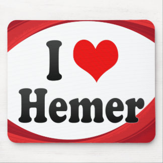 I Love Hemer Germany Ich Liebe Hemer Germany Mouse Pad