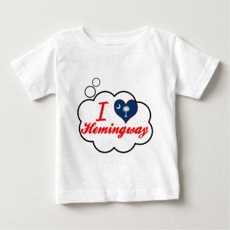 I Love Hemingway, South Carolina Baby T-Shirt