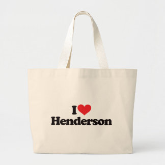 I Love Henderson Jumbo Tote Bag